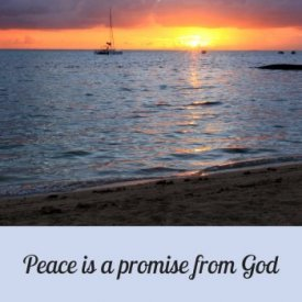 Peace is a promise from God