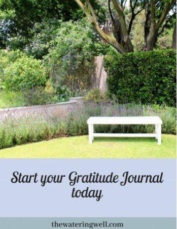 Start your Gratitude Journal today