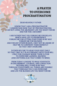 procrastination-steals-time