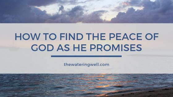Peace-God
