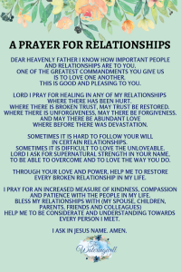 Relationship role christian life