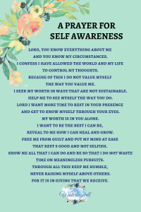 Caring for self in an unselfish way