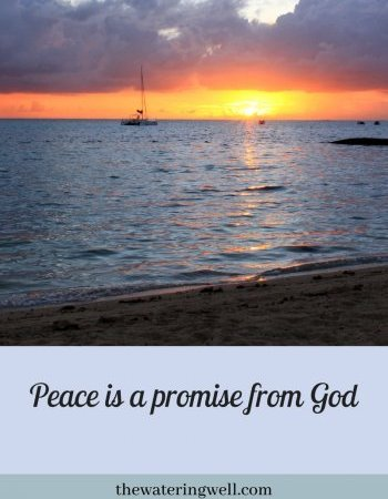 Peace: a promise given by God