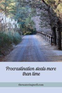 procrastination-steals-time