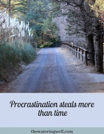 Procrastination: steals more than time