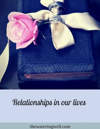 The Role of Relationships in our Lives