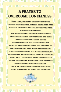 Overcome-loneliness