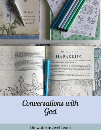 Conversations with God: Steps to a better quiet time