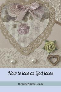 Love God loves