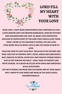 Love as God loves us