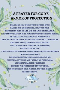 A prayer for protection